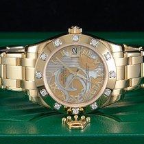 Rolex Datejust Lady Pearlmaster REHAUT Gelbgold/18kt.mit...