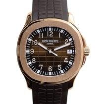 Patek Philippe New  Aquanaut 18k Rose Gold Bround Automatic...