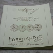 "Eberhard & Co. vintage warranty booklet for chrono4""be..."