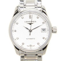 Longines Master Stainless Steel Silver Automatic L2.128.4.77.6