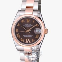 Rolex Datejust 31 mm Steel and Everose Gold