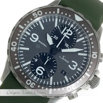 Sinn Duochronograph Diapal Classic Stahl 757