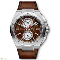 IWC Ingenieur Chronograph Silberpfeil Brown Dial Leather...
