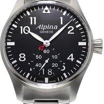 Alpina Geneve Startimer Pilot AL-280B4S6B Herrenarmbanduhr...