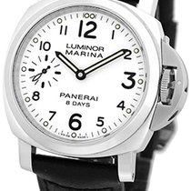 "Panerai Gent's Stainless Steel 44mm  ""Luminor Marina 8..."