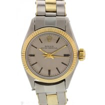 Rolex Oyster Perpetual SS & 18K YG 6619