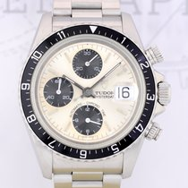 Tudor Oysterdate Chronograph steel Panda dial mint silver...