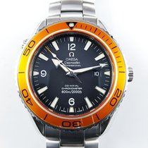 Omega 45,5mm Seamaster Planet Ocean 600m CO-Axial orange 22085000