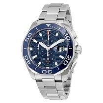 TAG Heuer Aquaracer Chronograph Automatic Mens Watch CAY211B.B...