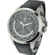 Girard Perregaux 49700-11-631-BB6B World Time Chronograph...