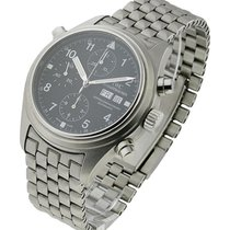 IWC Dopple Double Chronograph Automatic in Steel