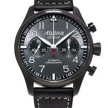 Alpina Startimer Pilot Blackstar Chronograph NEU LP 2.550€