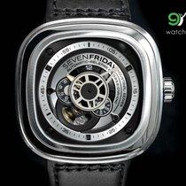 Sevenfriday P1b/01 Silver/rhodium 47mm