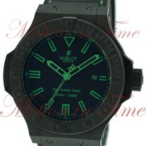 "Hublot Big Bang King ""All Black Green"", Black Dial,..."