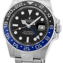 """ロレックス (Rolex) """"GMT Master II"""" Blue/Black Bezel."""