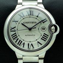 Cartier Ballon Blue 42 mm, 18Kt White Gold, full set