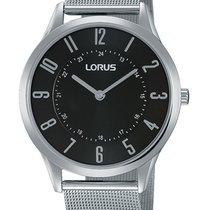 Lorus RTA61AX9 flache Unisex-Uhr 38mm silber schwarz 30M