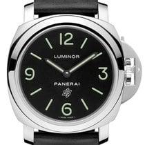 Panerai [NEW] PAM01000 Luminor Base Logo Acciaio (Retail:HK$37...