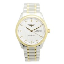 Longines Master 18 K Yellow Gold Silver Automatic L2.755.5.77.7