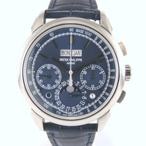 Patek Philippe 5270 G Blue Perpetual Calendar Chrono Full set