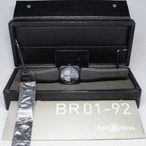Bell & Ross BR01- 92-SHO AVIATION TYPE 46MM WITH BOX AND...