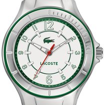Lacoste Acapulco Steel Womens Fashion Watch Silicone Strap...