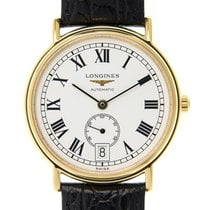 Longines Presence Gold-plated Stainless Steel White Automatic...