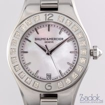 Baume & Mercier Linea Stainless Steel Quartz 27mm Ladies'...