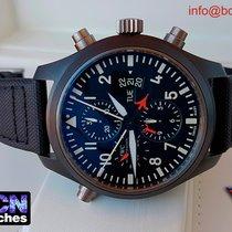 IWC Top Gun Pilot Double Chronograph Ceramic 46mm