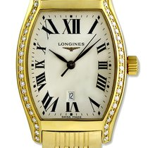 Longines Evidenza 18kt Gold & Diamond Womens Luxury Watch...