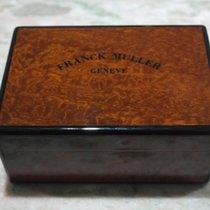 Franck Muller vintage wooden box rare complete newoldstock