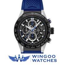 TAG Heuer Carrera Calibre Heuer 01 Blue Hands Ref. CAR2A1T.FT6052