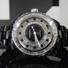 Chanel J12 38mm Black Diamond Bezel/Dial