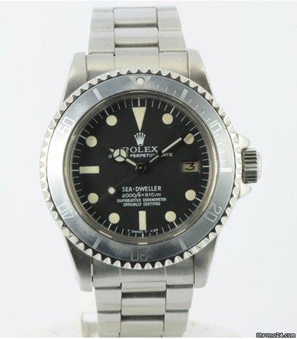 """Rolex Sea-Dweller 1665 """"Rail Dial"""""""