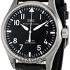 IWC Classic Pilot Mark XVI Steel Black Mens Watch 3255-...