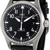 IWC Classic Pilot Mark XVI Steel Black Mens Watch 3255-01