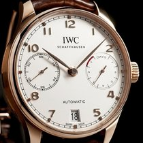 IWC [NEW] Portogieser 7 Days Red Gold Power Reserve IW500701