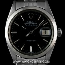 Rolex Stainless Steel O/P Black Dial Air-King Date Vintage 5700