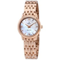 Omega De Ville Prestige Mother of Pearl Dial Ladies Watch...