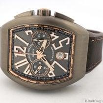 Franck Muller Vanguard Chronograph Titanium V45 CC DT TT BR.5N...