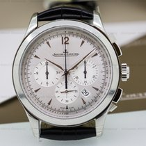 Jaeger-LeCoultre Master Chronograph SS Silver Dial