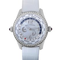 Girard Perregaux WW.TC Mother of Pearl Dial Diamond Automatic...