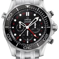 Omega Seamaster Diver 300m Co-axial Gmt 44mm Watch