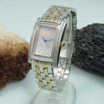 Invicta Diamanten Damenuhr Mit Saphir Glas Stahl / Gold |...