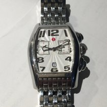 Michele Mens Stainless Chronograph  with Date