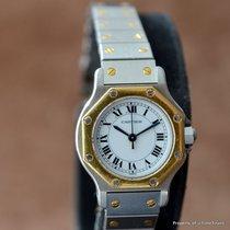 Cartier SANTOS OCTAGON AUTOMATIC LADIES 18K YELLOW GOLD...