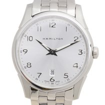 Hamilton 爵士系列 Stainless Steel Silvery White Quartz H38511153