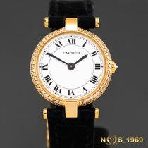 Cartier Paris Ronde Vendome 24mm 18K Gold Box