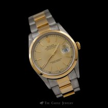 Rolex 16203 Two Toned Datejust w/ Oyster Bracelet