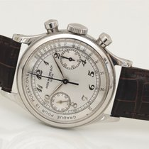 Patek Philippe ref 1463 A Chronograph Steel Breguet numerals...